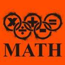 Math Splatter by Christopher Myers