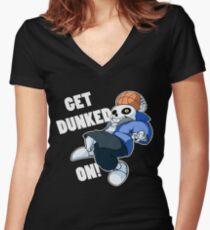Sans - Undertale - GET GEFUNDEN! Tailliertes T-Shirt mit V-Ausschnitt
