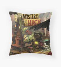 Mystery shack Throw Pillow