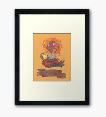 Leo Seedling Framed Print