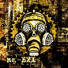 Steampunk / Cyberpunk Gas Mask by Steve Crompton