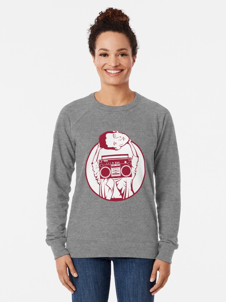 Alternate view of Don't Say Anything Lightweight Sweatshirt