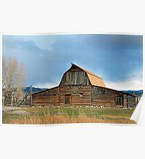 Historic Timber Barn Poster