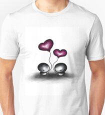 Stone man's heart balloons Unisex T-Shirt