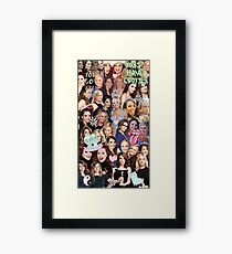 Tinamy collage Framed Print