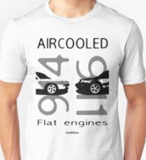 Aircooled flat6 engines Unisex T-Shirt