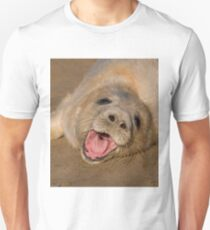 Seal Pup On The Beach At Donna Nook T-Shirt
