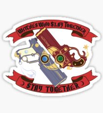 Slay Together, Stay Together - Bayonetta & Jeanne Sticker