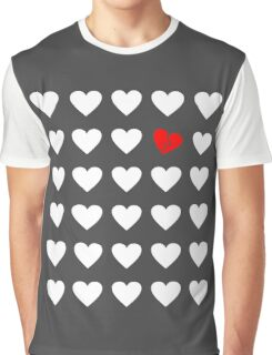 odd heart out Graphic T-Shirt