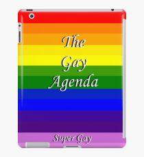 The Gay Agenda iPad Case/Skin