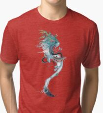 Journeying Spirit (ermine) Tri-blend T-Shirt