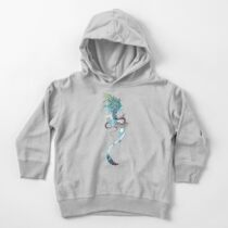 Journeying Spirit (ermine) Toddler Pullover Hoodie