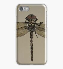 sunset dragon fly iPhone Case/Skin