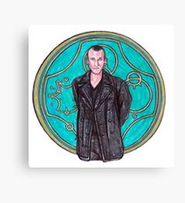 .9th Doctor. Canvas Print