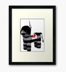 emo pinata  Framed Print