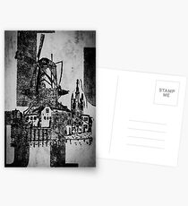 The Iron Windmill  Postcards