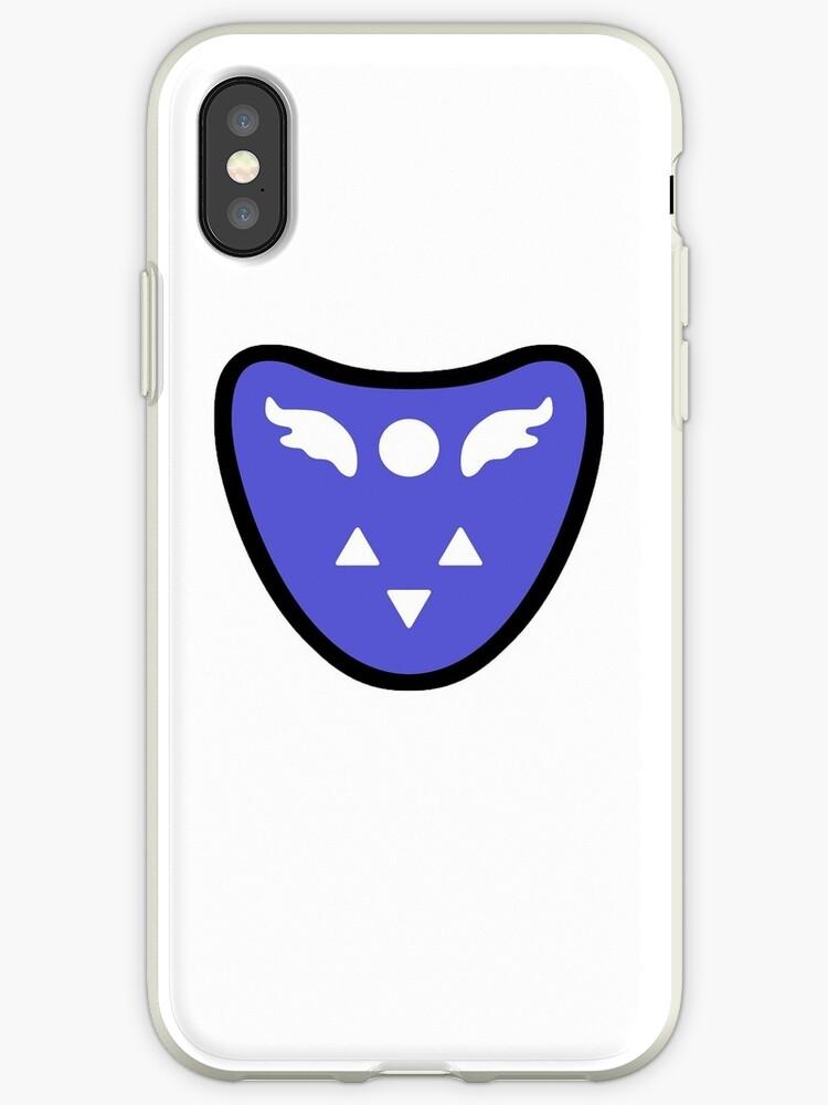 'Undertale Delta Rune' iPhone Case by BondofBlood