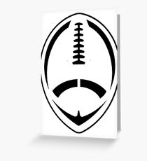 Football - Vector Art Greeting Card