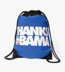THANKS OBAMA Drawstring Bag