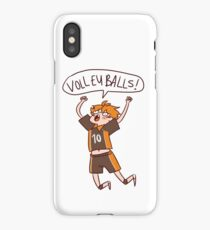 HAIKYUU HINATA SHOUYOU VOLLEYBALLS iPhone Case/Skin