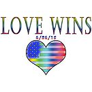 Love Wins! 6-26-15 USA Heart by 321Outright