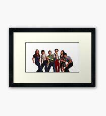 That '70s Show Gang Framed Print