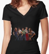 That '70s Show Gang Women's Fitted V-Neck T-Shirt