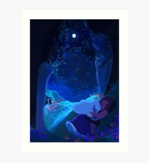 Sapphire and Ruby - the Answer Art Print