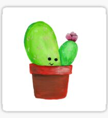 Cute Little Cactus 2 Sticker