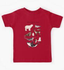 Arctic & Antarctic Animals Kids Clothes