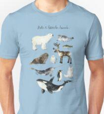 Arctic & Antarctic Animals T-Shirt