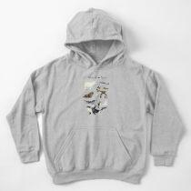 Sudadera con capucha para niños Animales árticos y antárticos