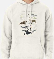 Arktische und antarktische Tiere Hoodie