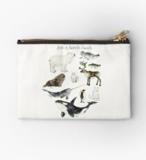 Arctic & Antarctic Animals Studio Pouch