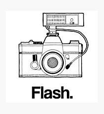 Camera Flash Photographic Print