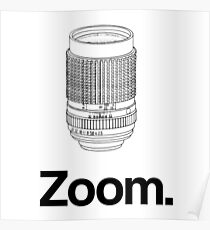 Zoom lens Poster