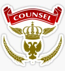 Knight Counsel Sticker