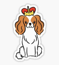 Cavalier King Charles Spaniel Puppy Dog  Sticker