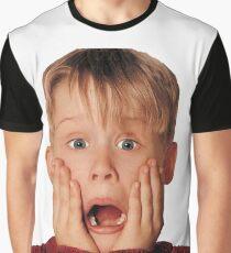 Macauly Culkin von zu Hause allein Grafik T-Shirt