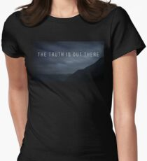 The Truth  Womens Fitted T-Shirt