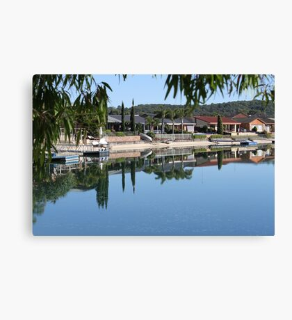 A Quiet Morning In August Canvas Print
