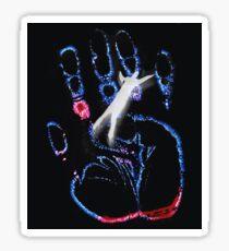 X files hand Sticker