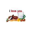 Nutella I Love You by Ommik