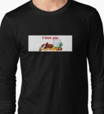 Nutella I Love You Long Sleeve T-Shirt