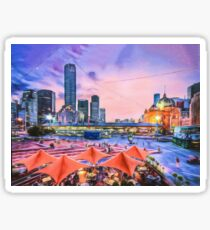 City Sunset II (GO3) Sticker