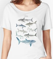 Sharks Women's Relaxed Fit T-Shirt