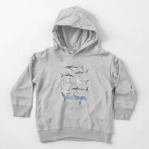 Sharks Toddler Pullover Hoodie