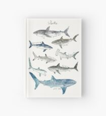 Sharks Hardcover Journal