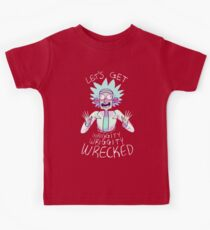 Lets Get Wrecked Rick Kids Tee