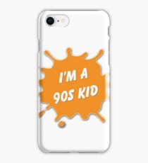 Are you a 90's Kid? - Nick Tribute iPhone Case/Skin